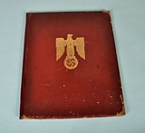 GERMAN WWII KNIGHTS CROSS OF THE IRON CROSS PRESENTATION DOCUMENT.