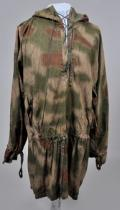 GERMAN THIRD REICH TAN & WATER PATTERN ARMY SNIPER SMOCK.