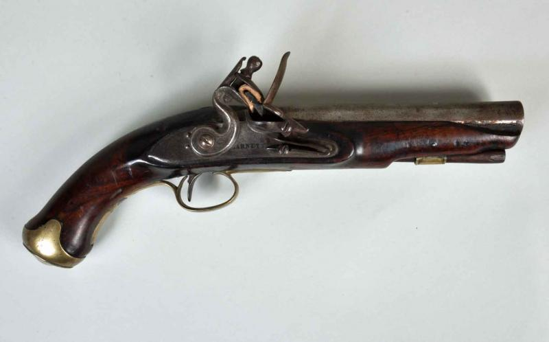 ENGLISH FLINTLOCK PISTOL.