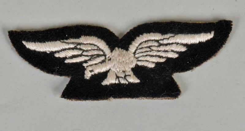 BRITISH WWI WOMAN'S ROYAL AIR FORCE ALBATROSS INSIGNIA.
