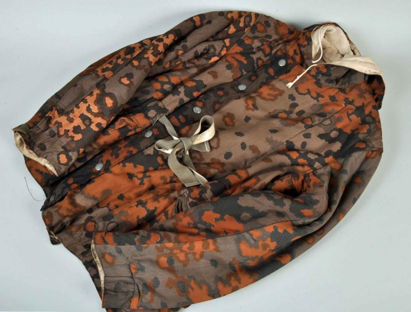 GERMAN WWII WAFFEN SS AUTUMN TO WINTER PADDED JACKET.