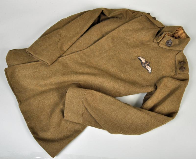 BRITISH WWI ROYAL FLYING CORPS PILOTS MATERNITY TUNIC.