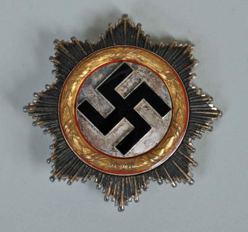GERMAN WWII GERMAN CROSS IN GOLD